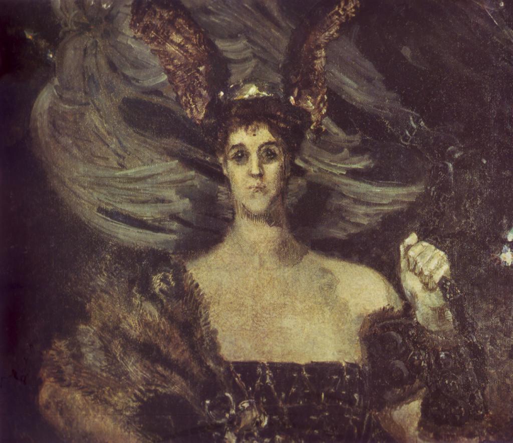 М. Врубель Валькирия (портрет М. Тенишевой)
