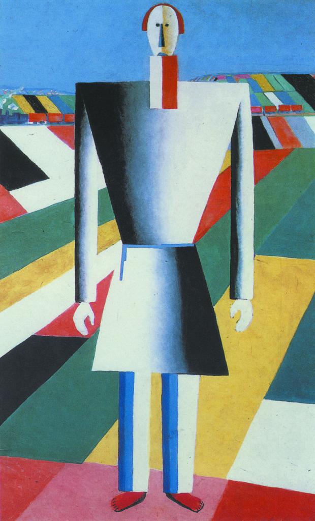 Крестьянин в поле. 1928-2929