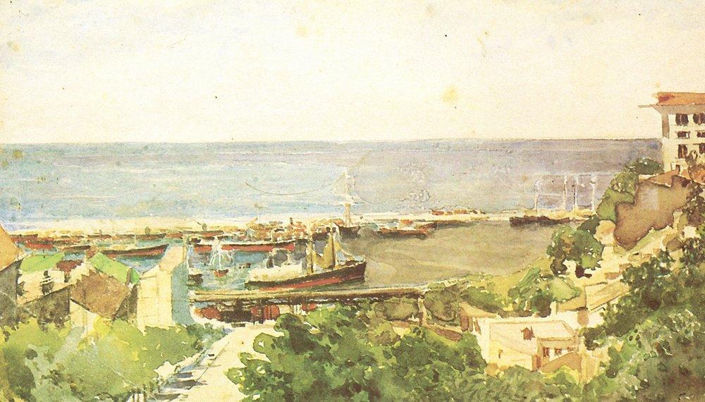 Врубель Одесский порт.????? ????. 188585